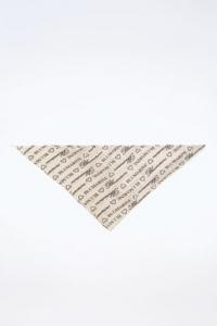 Λευκό Τριγωνικό Μαντήλι με