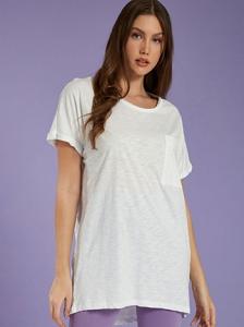 Μακριά βαμβακερή μπλούζα SH6446.4001+2