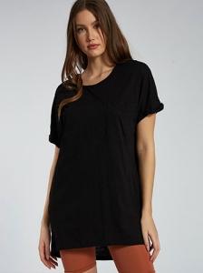 Μακριά βαμβακερή μπλούζα SH6446.4001+4