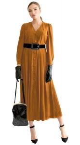 Μακρύ φόρεμα με κουμπιά Megan