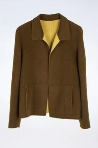 Μάλλινο Σακάκι Διπλής Όψης / Εφαρμογή: S