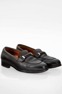 Μαύρα Δερμάτινα Loafers /