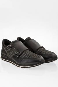 Μαύρα Δερμάτινα Sneakers με