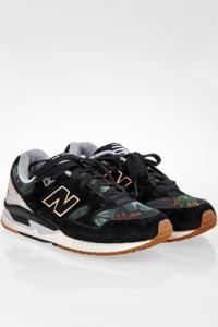Μαύρα N530MOW Sneakers από Καμβά και Σουέντ / Μέγεθος: 38 - Εφαρμογή: Κανονική