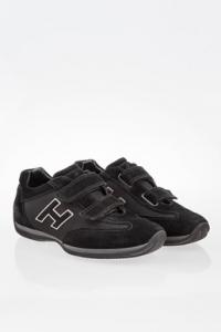Μαύρα Παιδικά Σουέντ Sneakers / Μέγεθος: 36- Εφαρμογή: 36.5