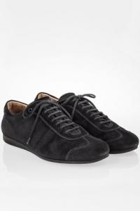 Μαύρα Σουέντ Sneakers / Μέγεθος: