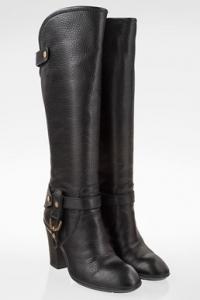 Μαύρες Δερμάτινες Rodeo Knee