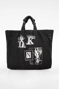 Μαύρη Tote Τσάντα από Καμβά