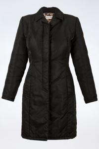 Μαύρο Αδιάβροχο Παλτό με Λεοπάρ Επένδυση / Μέγεθος: 38 - Εφαρμογή: XS / S