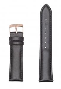 Μαύρο Δερμάτινο Λουράκι 20mm