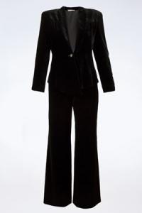 Μαύρο Βελούδινο Κοστούμι /