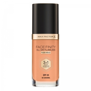 MAX FACTOR FACEFINITY ALL DAY FLAWLESS 3IN1 FOUNDATION 85 Caramel 30ml