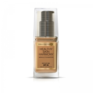 MAX FACTOR HEALTHY SKIN HARMONY FOUNDATION 80 Bronze 30ml