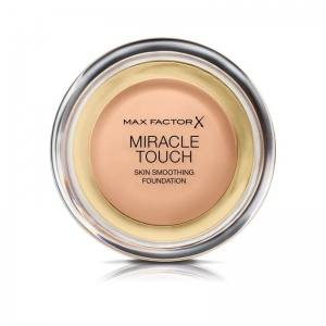 MAX FACTOR MIRACLE TOUCH FOUNDATION 45 Warm Almond 12gr