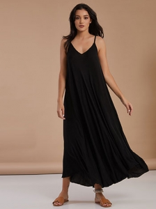 Maxi φόρεμα με V λαιμόκοψη SG7885.8982+1