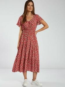 Midi φόρεμα με λουλούδια SH1770.8510+1