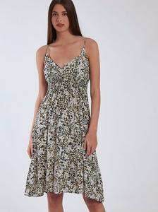 Midi φόρεμα με βαμβάκι SH9844.8339+3