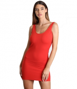 Mini Εφαρμοστό Φόρεμα τιράντα