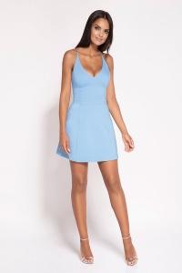 Μίνι φόρεμα με ραντάκια -