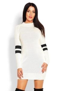 Μίνι πλεκτό φόρεμα μακρυμάνικο