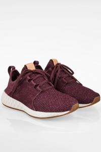 Μωβ WCRUZOM Sneakers από Καμβά και Σουέντ / Μέγεθος: 39 - Εφαρμογή: 38.5