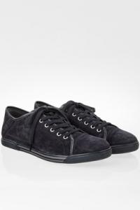 Μπλε Σουέντ Δετά Ανδρικά Sneakers / Μέγεθος: 42 (8)- Εφαρμογή: Κανονική