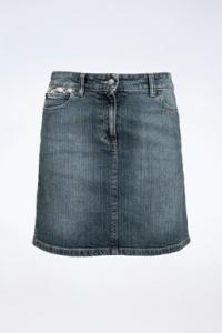 Μπλε Τζιν Βαμβακερή Φούστα / Μέγεθος: 6 UK - Εφαρμογή: XS
