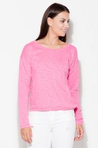 Μπλούζα μακρυμάνικη - Ροζ
