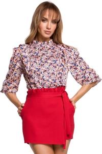 Μπλούζα με print - Ροζ