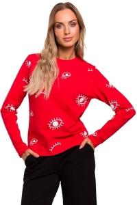 Μπλούζα με σχέδια - Κόκκινο