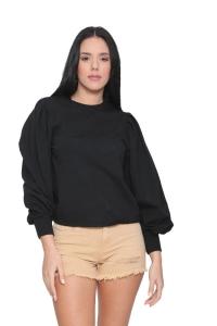 Μπλούζα Με Σχέδιο Σε Μαύρο