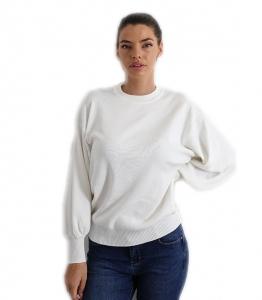 Μπλούζα πλεκτή (Λευκό)