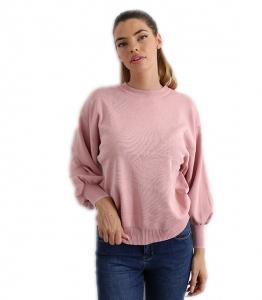 Μπλούζα πλεκτή (Ροζ)