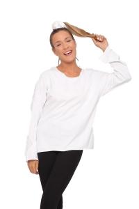 Μπλούζα Βαμβακερή Σε Άσπρο