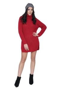Μπλουζοφόρεμα Σε Κόκκινο