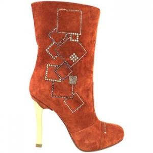 Μπότες Fabi stivali rosso