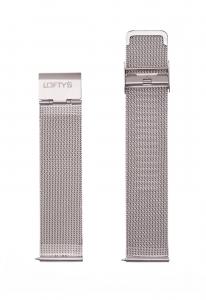 Μπρασελέ Ρολογιού σε Ασημί - Mesh 20mm