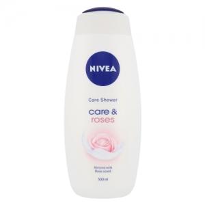 Nivea Care & Roses Shower Cream 500ml