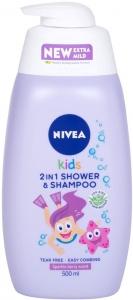 Nivea Kids 2in1 Shower & Shampoo