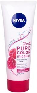 Nivea Pure Color Micellar Conditioner + Mask 2 IN 1 Conditioner 200ml (Colored Hair)