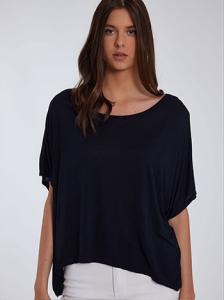 Oversized ασύμμετρη μπλούζα