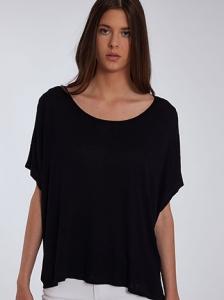Oversized ασύμμετρη μπλούζα SH6472.4001+2
