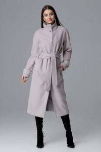 Παλτό με ψηλό λαιμό τσέπες