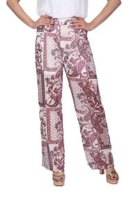 Παντελόνα Με Σχέδια Σε Ροζ