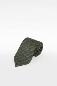 Πράσινη Μεταξωτή Γραβάτα με