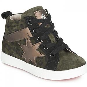 Ψηλά Sneakers Acebos 5302SL-KAKI-T