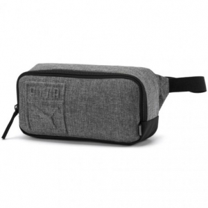 Puma S waist bag gray 075642