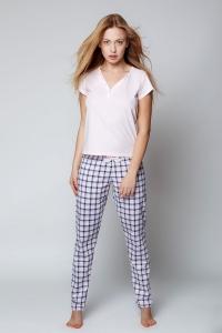 Σετ πυτζάμα παντελόνι καρό