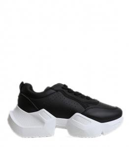 Sneakers δίπατο με χοντρό