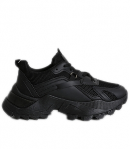 Sneakers με χοντρό πάτο (Μαύρο)